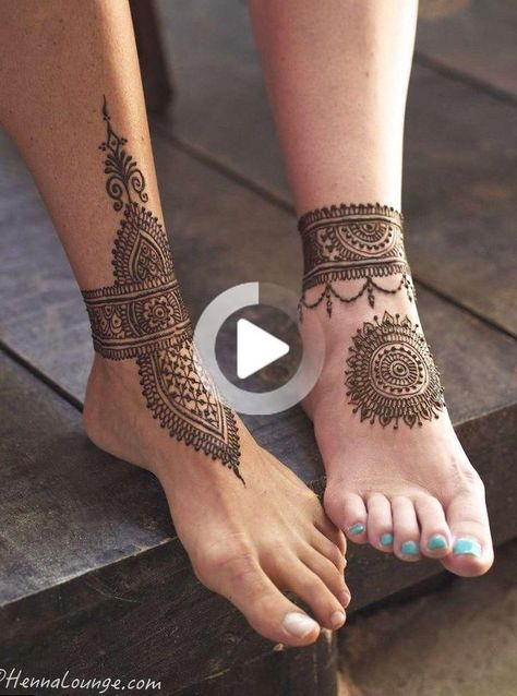 The Henna tattoo of the sun flower uses white Henna flower paint, which is suitable for girls with darker skin, which can reflect the healthy…