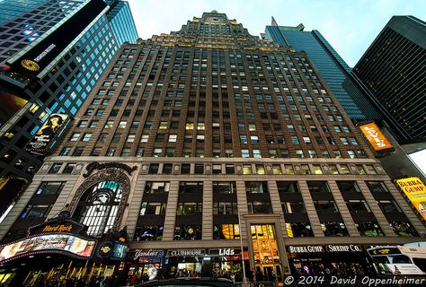 Paramount Building in NYC