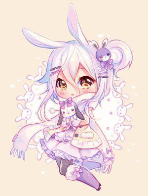 Commission Winter Hug Cute Anime Chibi Cute Kawaii Drawings Kawaii Drawings