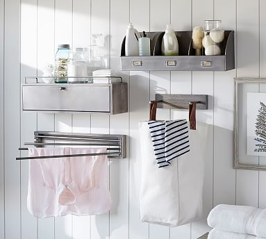 Lombard Laundry Modular System Potterybarn Laundry Inspiration