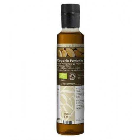 Olio Alimentare di Semi di Zucca Biologico - Naturale al 100%, promuove la salute dell'organismo, #olio #zucca #autunno #pelle #aromaterapia #salute #benessere #cucina #ricette