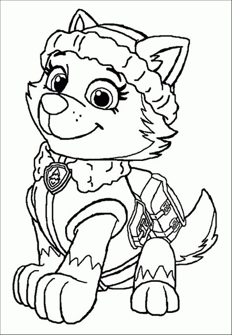 Top 10 Paw Patrol Coloring Pages Paw Patrol Coloring Pages Dog