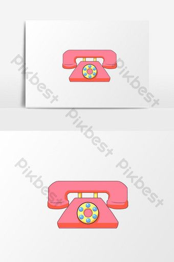 Hand Drawn Cartoon Children S Day Red Phone Model Pikbest Graphic Elements Icon Set Design How To Draw Hands Child Day