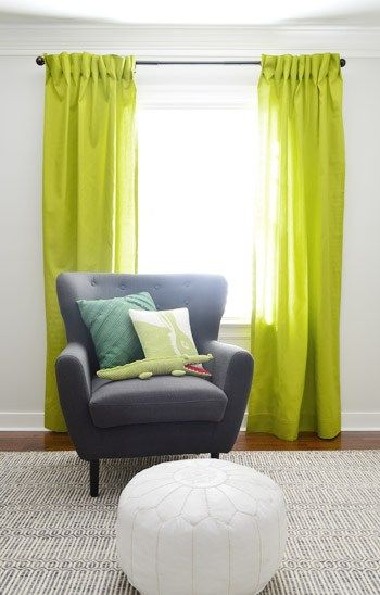 Making Pleated Curtain Panels The Easy Way Interior Dekorieren