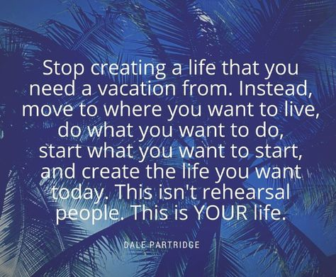 Omg. So true. I would love to pick up and move away and start fresh away from everything and everyone that has been a negative force in my life. Just leave it all behind. Ahh to dream❤️