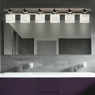Brayden Studio Genaro Argyle Oval 6 Light Bath Bar Vanity Lighting Bath Vanity Lighting Bath Bar