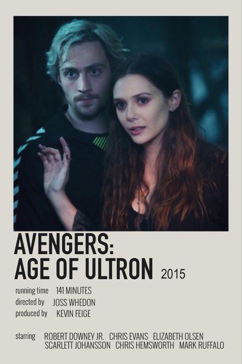 avengers: age of ultron Ⓐ (2015) - polaroid poster