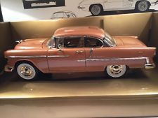 Chevrolet Chevy Bel Air 1955 Metallic Rot Custom Edition Blown Engine 1//18 Motor