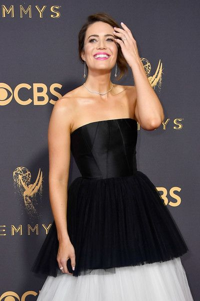 Actor Mandy Moore attends the 69th Annual Primetime Emmy Awards at Microsoft Theater.