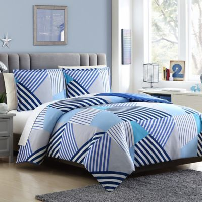 Bring Modern Chic Design To Your Space With This Beautiful Axel Bedding Set In Breathtaking Tone Duvet Cover Sets Reversible Duvet Covers Duvet Cover Pattern