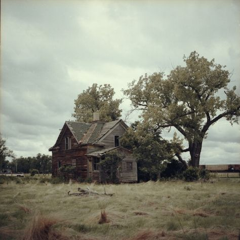 Abandoned home in a South Dakota ghost town, shot on Kodak Ektar. The Last Summer, Southern Gothic, Red Dead Redemption, Old West, Story Inspiration, Ghost Towns, South Dakota, Abandoned Places, Rick Grimes