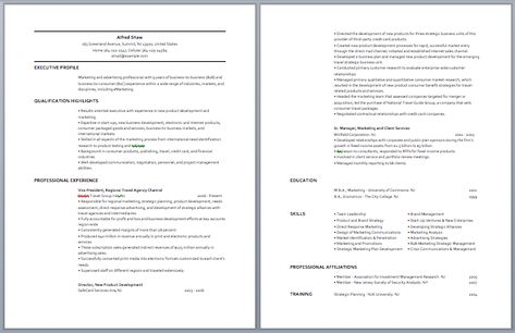 Advertising Manager Resume Manager Resume Samples Pinterest - sample resume for security guard