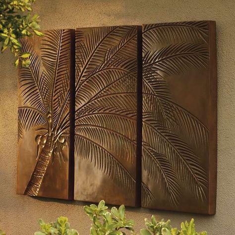 Palm Tree Triptych