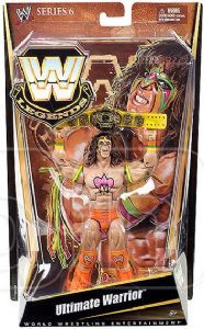 Wrestlemania 7 Collector Figure Series #2 WWE Defining Moments Ultimate Warrior