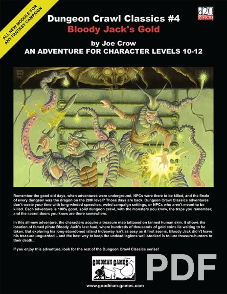 Dungeon Crawl Classics #4: Bloody Jack's Gold – PDF