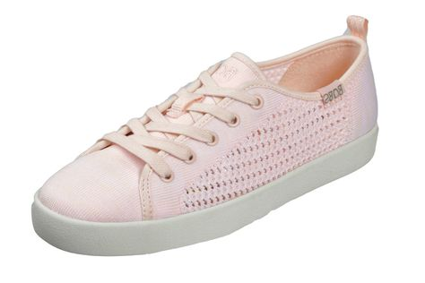 Womens Zaxy Start Blossom Shoes In Nude Contrast Cushioned Insole Slip On