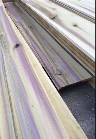 Purple Rain Poplar Who Knew Purple Wood Stain Staining Wood Beautiful Wood