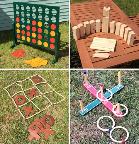 Garden Selections Deluxe Wooden Garden Games Outdoor Games