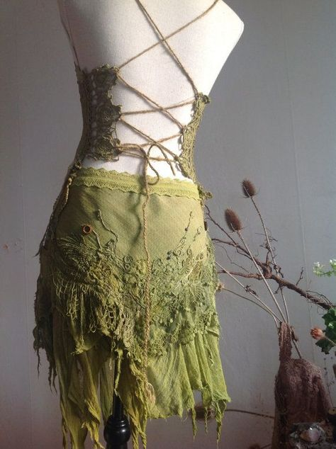 Find this Pin and more on Halloween. Moss owl Spirit Dress Woodland Nymph Costume by FractalWings Nymph Costume, Elf Costume, Cosplay Costumes, Fairy Costumes, Costume Ideas, Halloween Costumes, Elven Cosplay, Woodland Fairy Costume, Princess Tutu Dresses