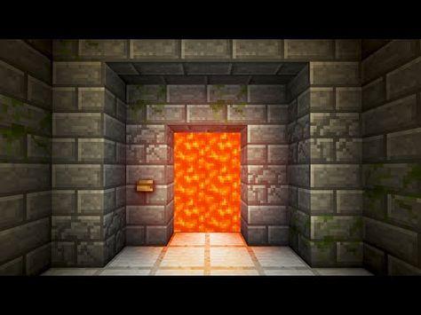 Lever Password Activated Door! - Minecraft Tutorial - YouTube