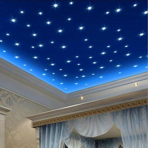 100Pcs Set Luminous Fluorescent Star Stickers For Kids Rooms Decor Vin – T A Y Online Store