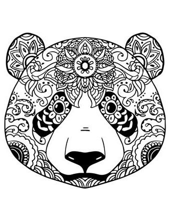 12 Simple Coloriage Mandala Panda Images Coloriage Mandala