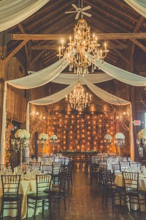 Rustic Barn Wedding Light Decor Ideas / http://www.deerpearlflowers.com/rustic-barn-wedding-ideas/2/