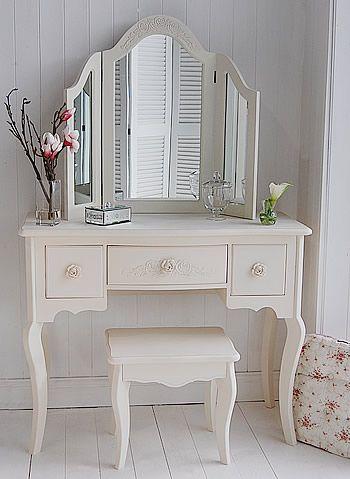 Cream Dressing Table - Peony Cream Bedroom Furniture                                                                                                                                                      Más