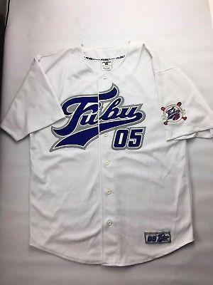 Vintage Fubu Collection 90 S Hiphop Urbanwear Designer Baseball Jersey Xxl Ck Fashion Urban Wear Clothes