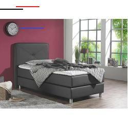 Amenagementmaison Bei Boxspringbetten Wird Kein Lattenrost Und Bettrahmen Verwendet Durch Den Speziellen Aufbau Aus Eine In 2020 Leather Bed Box Spring Bed Maintal