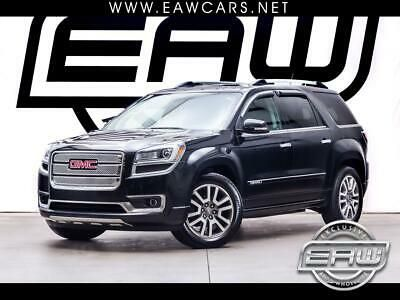 Ebay Advertisement 2014 Gmc Acadia Awd 4dr Denali 2014 Gmc Acadia Awd 4dr Denali 104862 Miles Black Engine 3 6l Sidi V6 288 Hp In 2020 Awd Gmc Vehicle Shipping