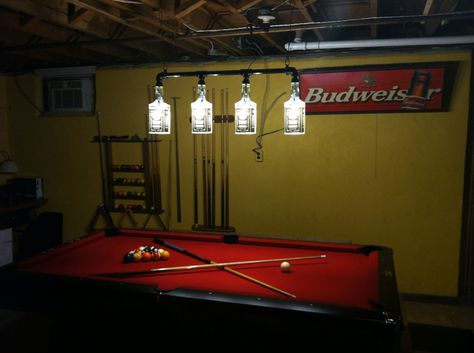This is a JB Original Jack Daniels pool table / bar light