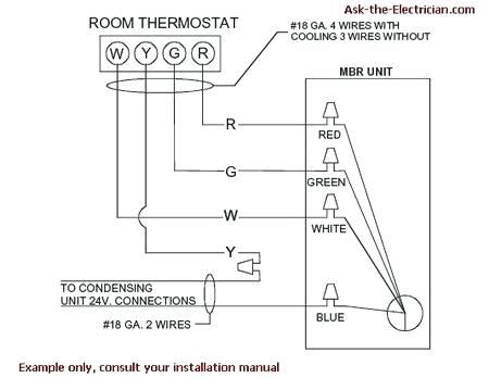 bryant thermostat wiring diagram | thermostat wiring, thermostat, electric  furnace  pinterest