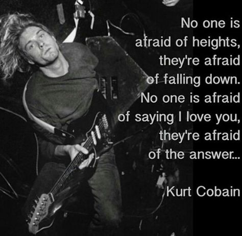 Nirvana Kurt Cobain Quotes IMages