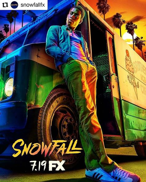 #MondayMotivation with the legendary filmmaker  @johnsingleton #Repost @snowfallfx    1984. Los Angeles.  The dangerous game continues July 19th on FX. #SnowfallFX