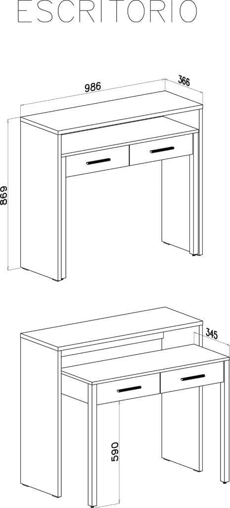 Abstand Schreibtisch Wand Büro 2021