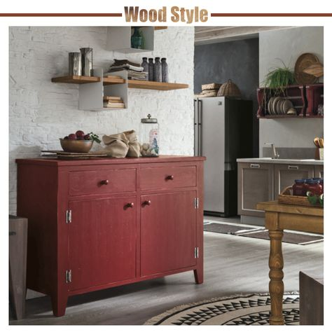 wood style cucina stosa made in italy legno mensola rh pinterest com