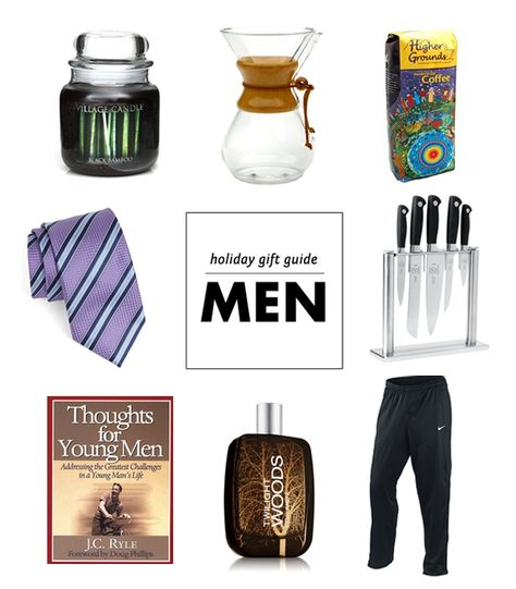 Holiday Gift Guide: For the Men