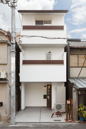 小さい土地でもあきらめない 3階建ておしゃれ住宅 の外観まとめ