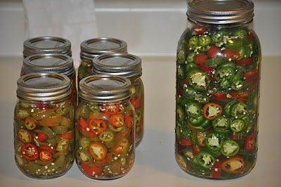 This is how I have canned Jalapenos for years. One of my husband's favorites. Canning Sliced Jalapenos!!! | The Farmers Daughter CSA