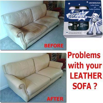 Scotchgard Leather Sofa