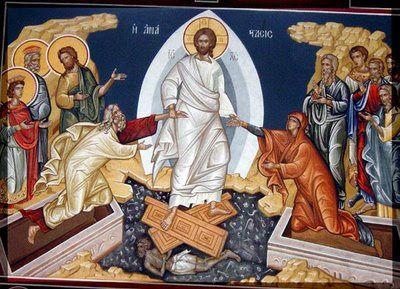 Ταξίδι στην ορθοδοξία: Η ερμηνεία της εικόνας της Ανάστασης | Byzantine art, Art, Painting
