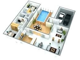 Low Budget Modern 3 Bedroom House Design Google Search Small House Design Plans Bedroom House Plans House Plans