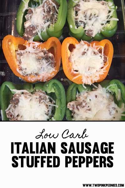 Italian Sausage And Cream Cheese Stuffed Peppers Recipe In 2020 Cream Cheese Stuffed Peppers Stuffed Peppers Peppers Recipes