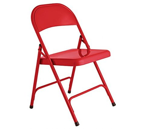 Wondrous Habitat Macadam Red Metal Folding Chair Also Available In Andrewgaddart Wooden Chair Designs For Living Room Andrewgaddartcom
