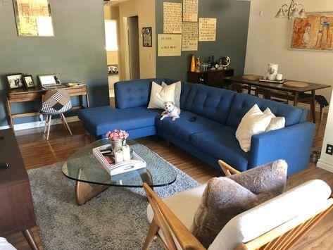 Fabulous Logan 2Pc Sectional Sofa Leg Finish Pecan Machost Co Dining Chair Design Ideas Machostcouk