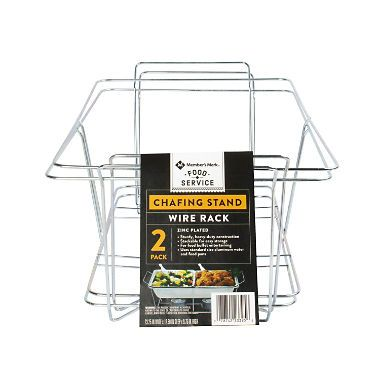 Member S Mark Chafing Dish Wire Rack 2 Pk Chafing Dishes Wire Racks Wire