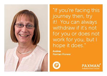 Paxman Pioneer Andrea Testimonials Awareness Raise Awareness