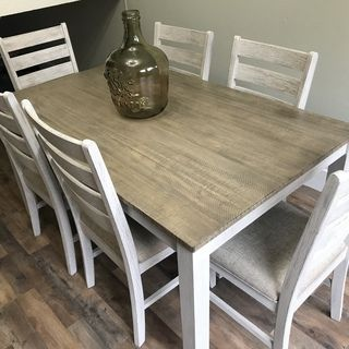 15+ Skempton dining room table and chairs set of 7 Trend