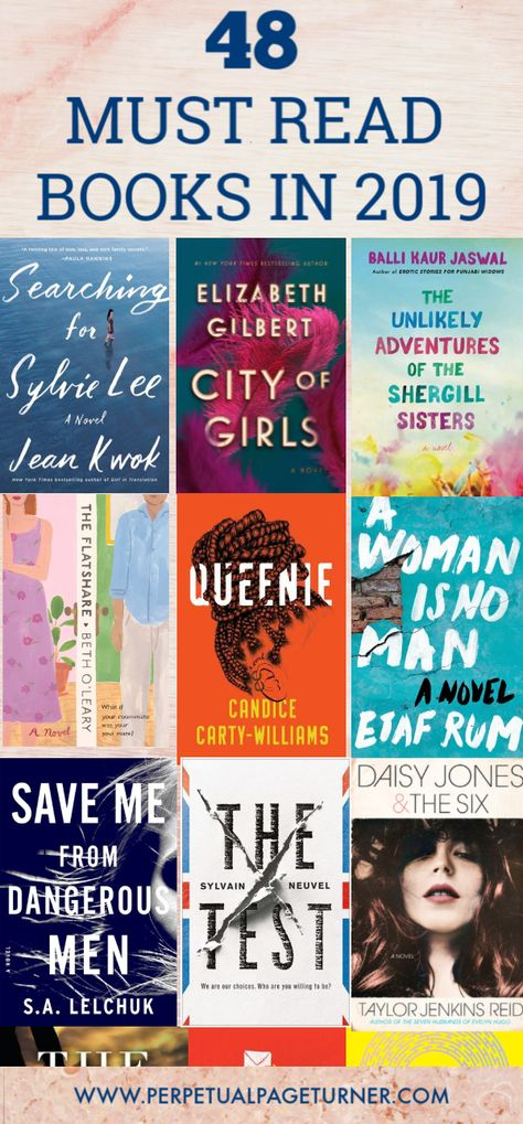 Most Anticipated Books Of 2019: New Books In 2019 You Can't Miss Wondering what new books in 2019 you need to read? Check out this list of must read books for 2019 and know all the most anticipated books of 2019!